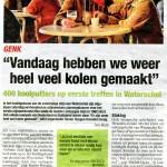 Het Belang van Limburg (9 maart 2015)